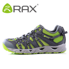 Rax Breathable Leather Walking Male Trekking Shoes Leather Outdoor Casual Shoes Men Lightweight Men's Shoes Outdoor 21-5K013