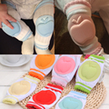 New 2Pcs/1Pair Baby Kneepad Cozy Cotton Breathable Sponge Children Knee Pads Doll Learn To Walk Best Protection kids