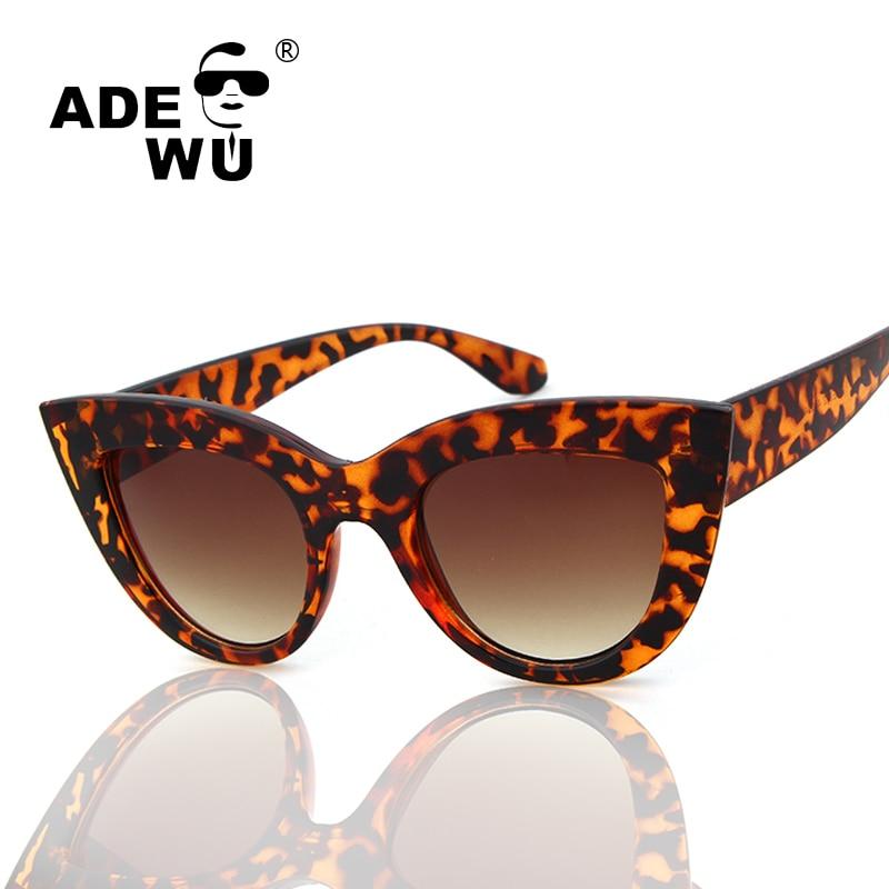ᐅAde del ojo de gato leopardo atractivo Marcos Gafas de sol mujeres ...