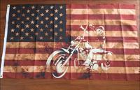 משלוח חינם 3'X5 'דגלי priate אמריקאי דגל של פיראטים רכיבה על אופנוע 90x150 ס