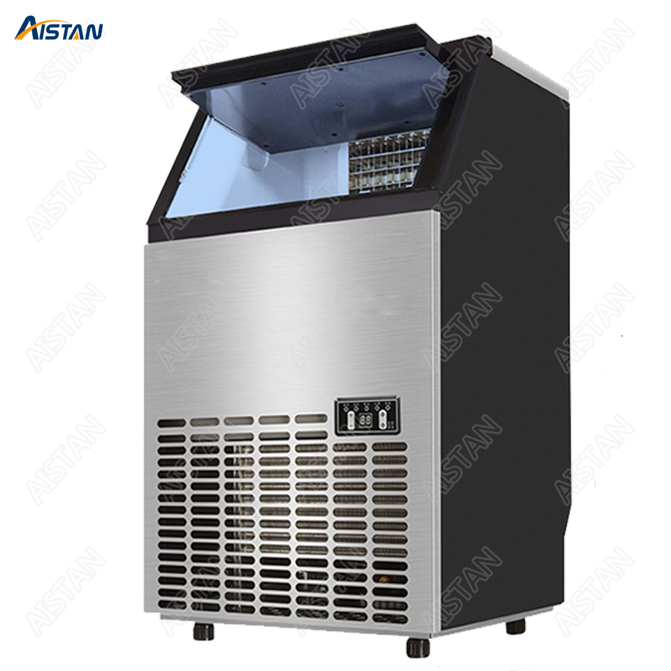 HZB45/65/90 Electric Automatic Ice Maker Commercial Or Home Use Ice Cube Machine 220V 110V Cube Ice Maker