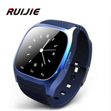 Smart Bluetooth Uhr M26 Smartwatch mit Led-anzeige Barometer Alitmeter Musik-player Schrittzähler für Android IOS Smartphone