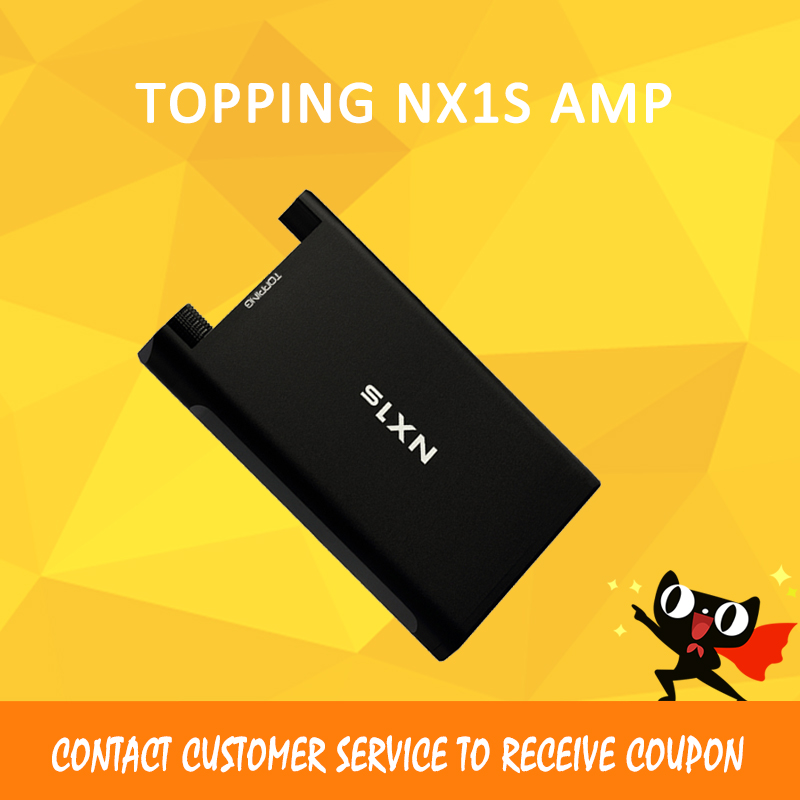 TOPPING NX1s Mini Portable Amp Hi-Res Digital Audio Headphone Amplifier New upgrade Version OPA1652 LMH6643 topping nx1s opa1652 lmh6643 portable stereo hifi audio headphone amplifier amp