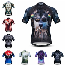 Weimostar 3D 2019 Cycling Jersey mens Bike Jersey road MTB bicycle tops Summer Pro Team Ropa Maillot Ciclismo Racing shirt Wolf 2020 cycling jersey women bike jersey road mtb bicycle shirt team ropa ciclismo maillot racing tops female clothes uniform green