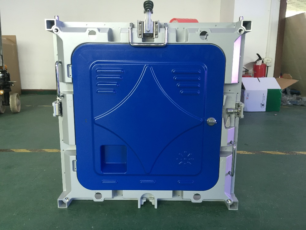 P4 RGB indoor led cabinet 512X512mm aluminium die casting cabinet P4 empty cabinet
