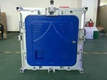P4 cubierta RGB led gabinete, 512X512mm fundición a presión de aluminio gabinete, P4 gabinete vacío