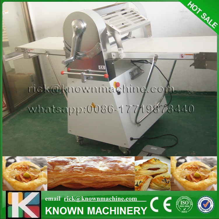 2017 the CE certified croissant bread pizza dough sheeter philippines bakery equipment with stainless steel food grade 15 inch pizza press machine commercial stainless steel pizza dough maker pizza dough forming machine 370w dr 1v ce