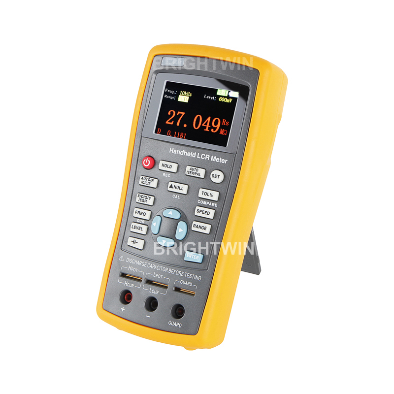 Precision Digital LCR Meter 100KHz LCR Digital Bridge Inductance Resistance Capacitance Tester East Tester Digital LCR