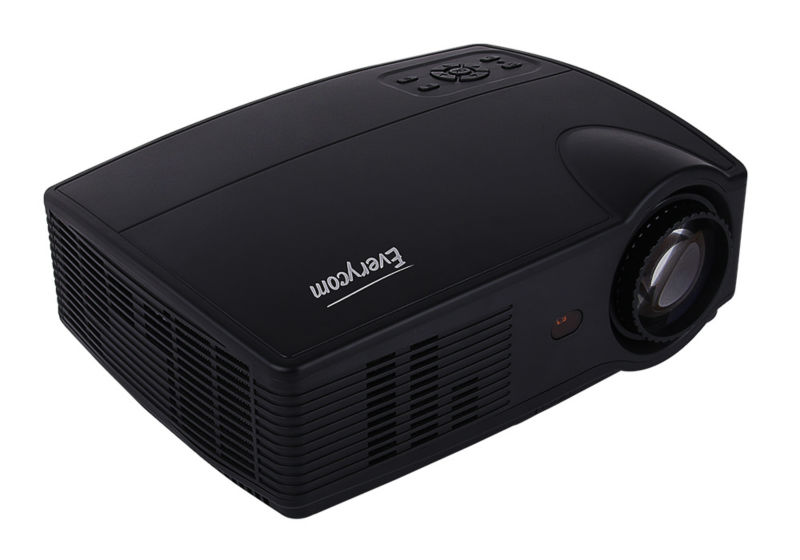 Everycom X9 LED 720P projectors (9)