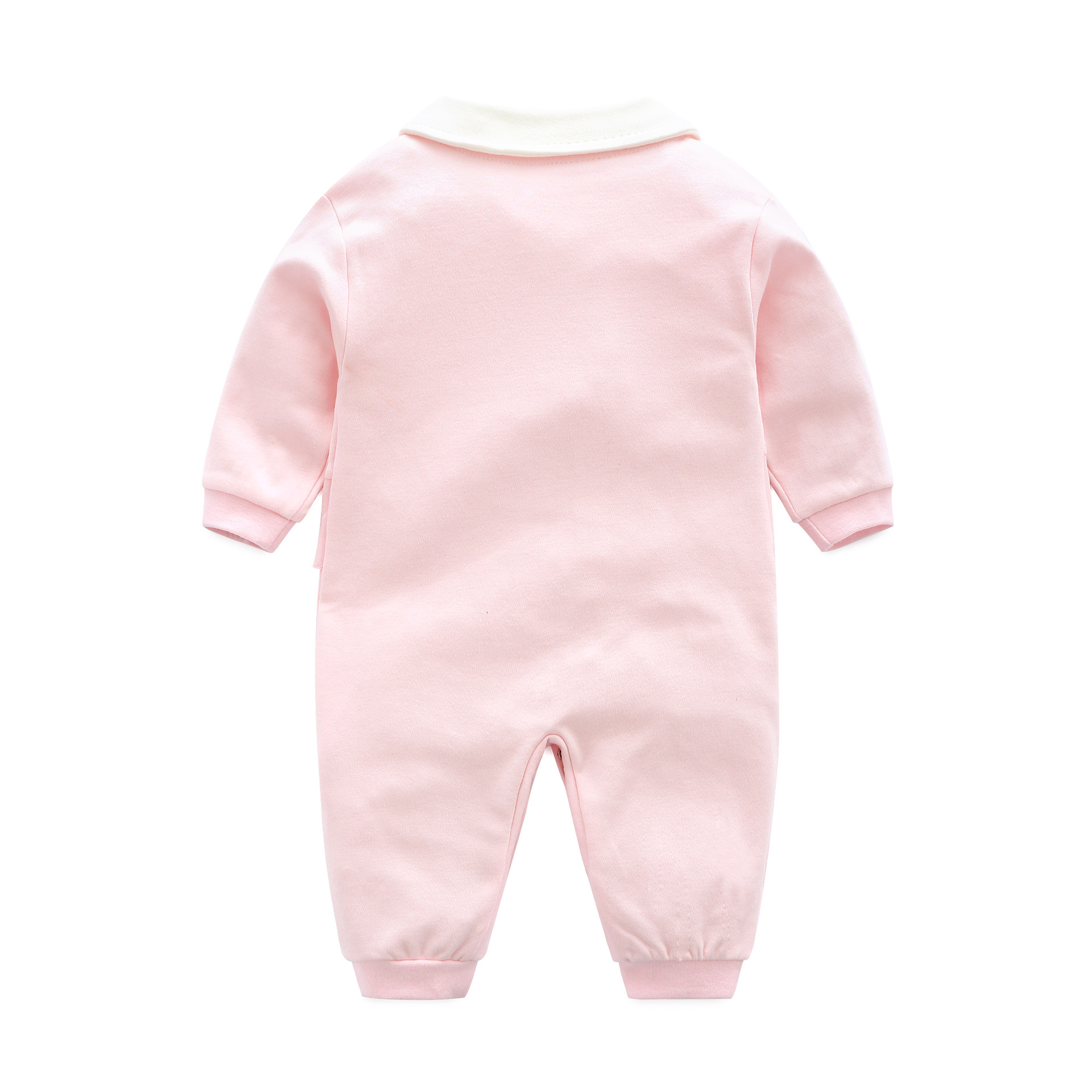 Newborn Unisex Jumpsuits Gentleman Autumn Long Sleeves Rompers Cotton Baby Clothes For Boys Girls Outfits Infantil Costume Wear | Happy Baby Mama