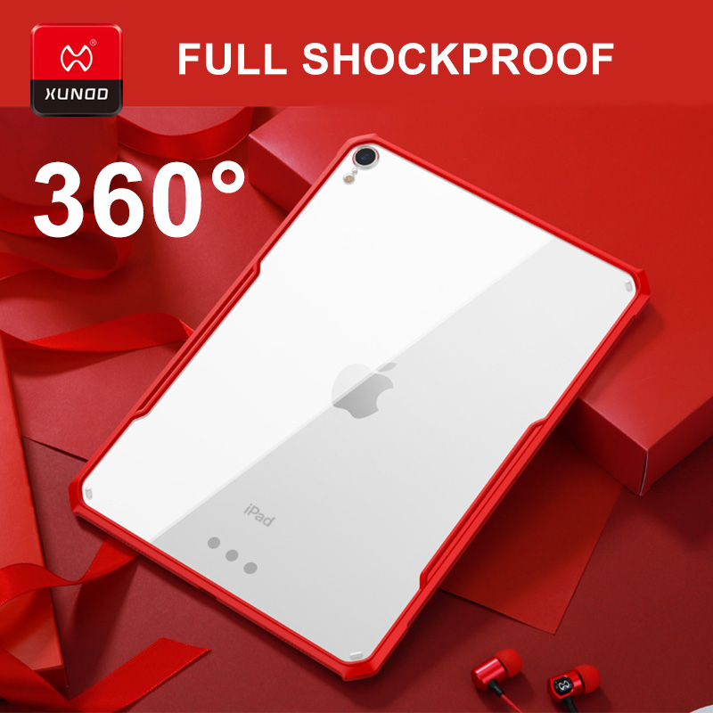 Luxury Case For New IPad Pro 11 9.7 10.5 Inch 2017 2018 Mini 12345 Air2 2019 Air3 Tablet With Airbags Silicone Shockproof Cases