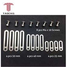 TAOCHIS Testa luce Retrofit Adattatore Strumenti Frame Per Koito Q5 Hella Lente Del Proiettore Collegamento Piatti 25/40/50mm Modificare Viti