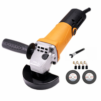 220v multifunctional electric angle grinder short handle metal sheet cutting combo 1 polishing grinding cutting sanding waxing