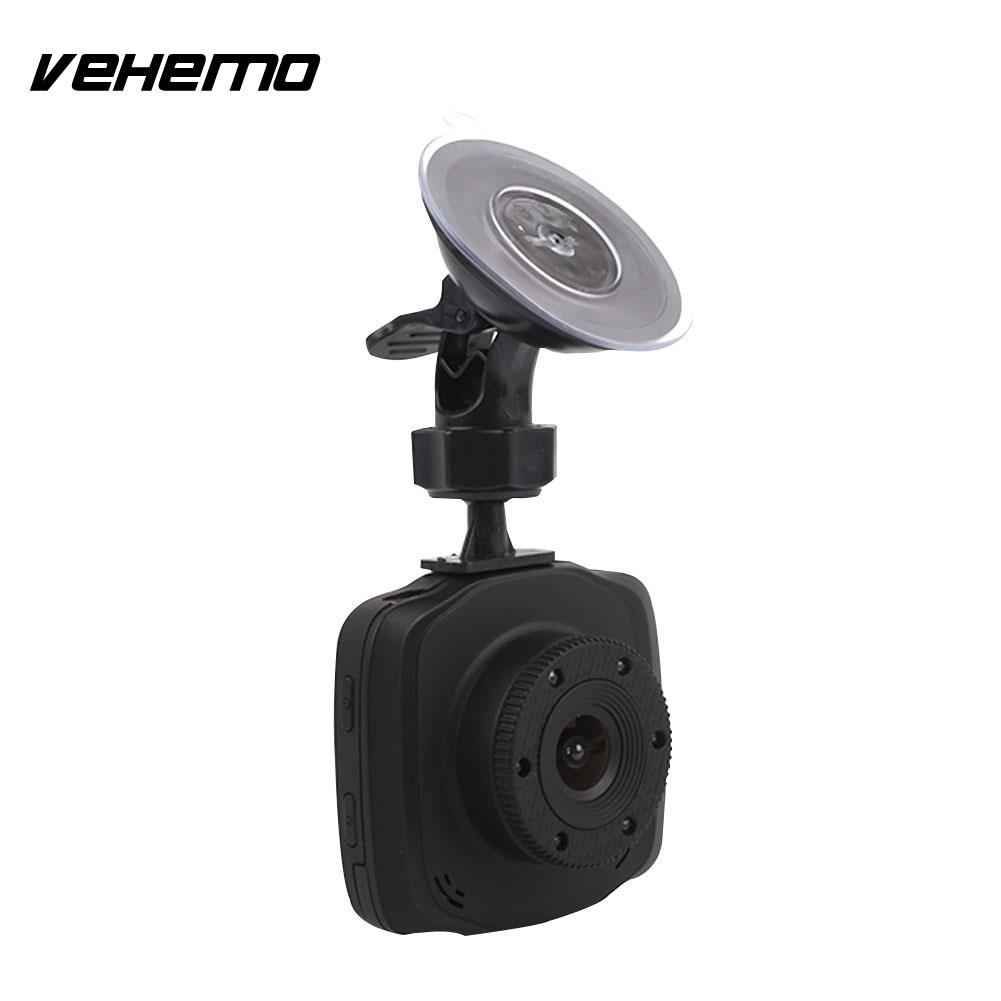 Vehemo Night Vision 2.4 Inch Portable Durable Dash Cam Auto On/Off Parking Monitor Driving Recorder Car Camera Car DVR