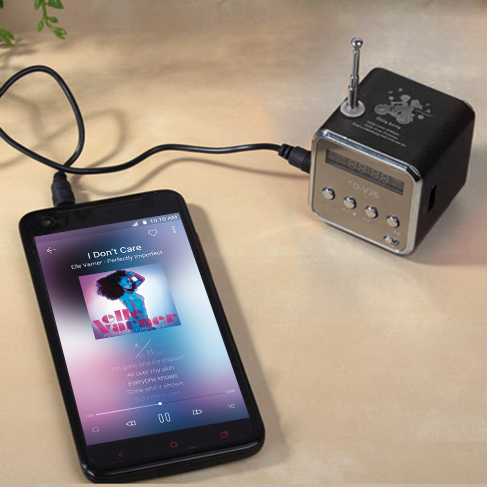 New Portable Micro TF USB Mini Speaker Music Player Portable FM Radio Stereo mp3 phone Laptop MP3 MP4 Player Mini Speaker portable mini mp3 vibration speaker w fm usb tf remote controller black page 6