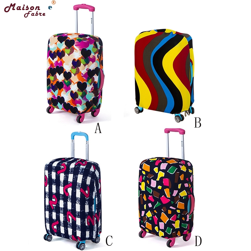 Luggage-Cover Travel-Bag Suitcase Dust-Proof 0301 Elastic Nonwoven 18-20-Inches