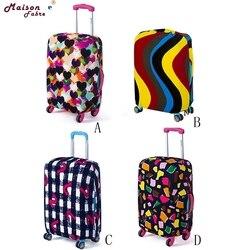 Mala de bagagem capa 18-20 polegadas elástico não tecido à prova de poeira bolsa de viagem mala capa 0301 transporte da gota
