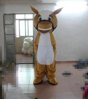 Neueste hochwertigen charakter braun esel maskottchen kostüme Urlaub spezielle kleidung