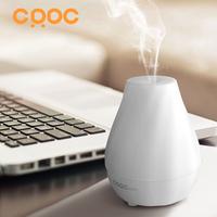 CRDC LIFE Ultrasonic Air Aroma Humidifier Changing 7 Color LED Lights Electric Aromatherapy Essential Oil Home