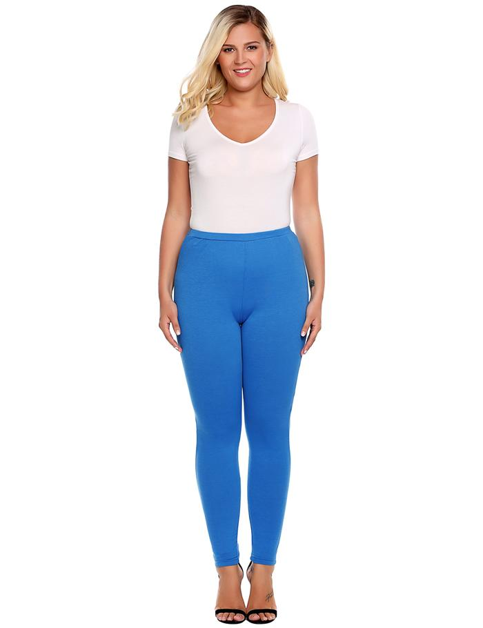 Plus Sized Women's Leggings - Blue, Brown, Black - L, XL, XXL, XXXL, 4XL - image HTB1nyZISpXXXXb7XpXXq6xXFXXX9 on https://awesomeleggingstore.com