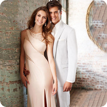 White Men Suits Pants Groom Wedding Suits Formal Tuxedos Prom Party Man Blazers Costume Homme Slim Fit Terno Masculino 2Pieces