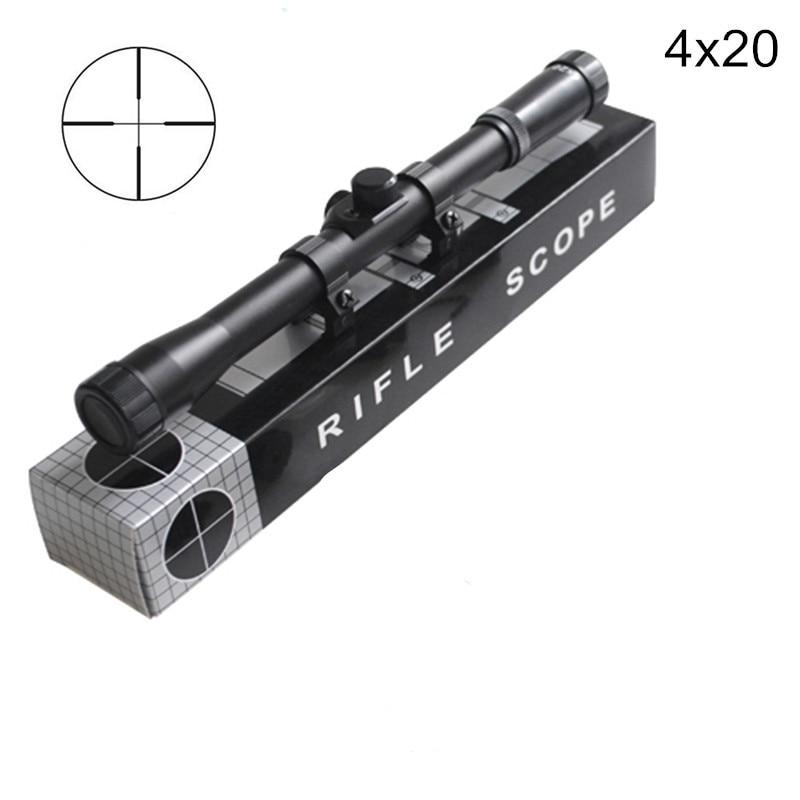 4x20 Hunting Riflescopes Holographic Sight Tactical Optics Airsoft Air Guns Shooting Scopes Sniper Reticle Pistol Reflex Sight