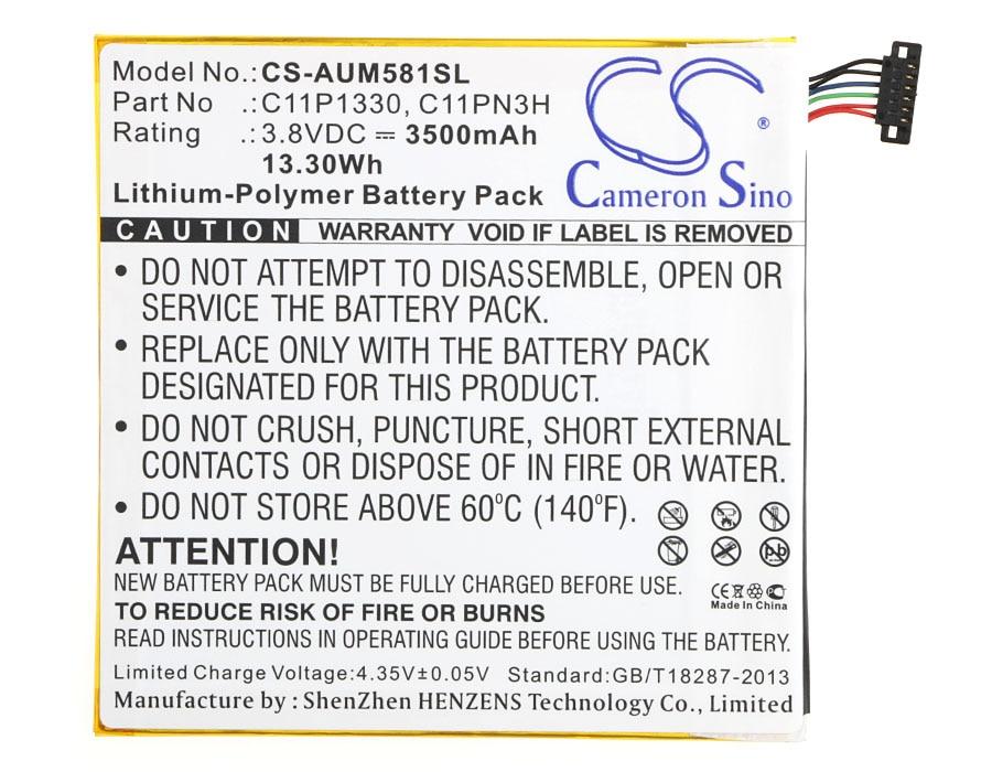 Cameron Sino 3500 Mah Batterie C11p1330 Me181cx GüNstigster Preis Von Unserer Website Memo Pad 8 Me181a Memo Pad 8 Me581cl Me181c C11pn3h Für Asus Ast21
