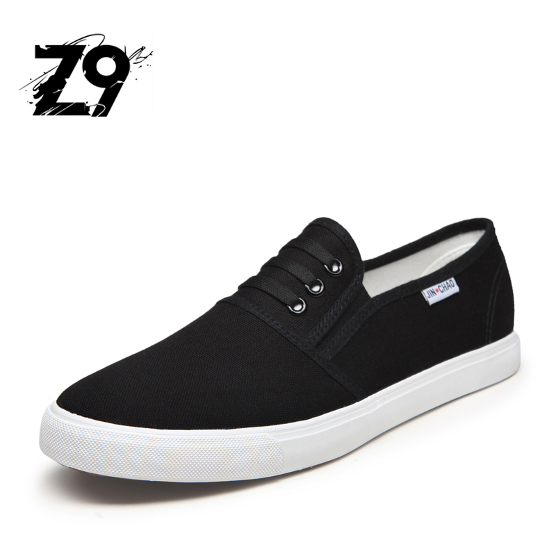 2016 Top men casual shoes canvas breathable flats super