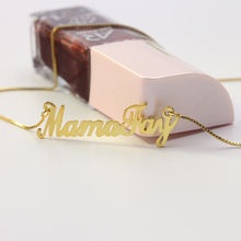 Custom Name Necklace Personalized 925 Solid Silver Necklace for Women Engraved Name Necklace