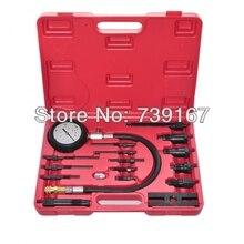 Dizel Motor Silindir Sıkıştırma Presssure Testi Meter Ölçer Aracı Set ST0128