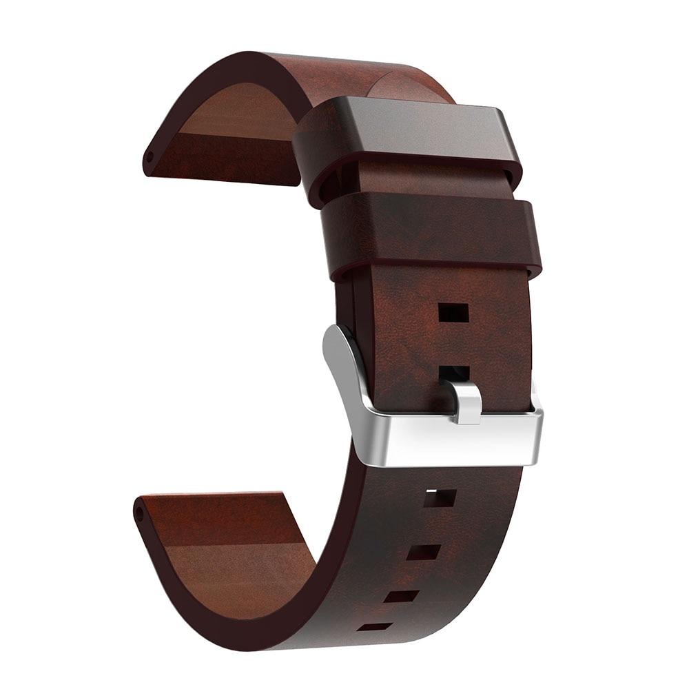 Pulseira de couro relógio de pulso Banda