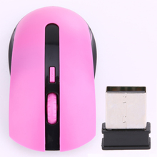 2.4G USB Wireless Optical Mouse Cordless  6 keys Mice Mini adapter Plug Receiver for Laptop PC notebook weight light mause