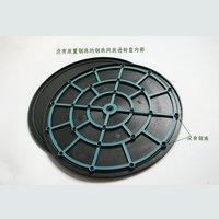 1PC LOT 400 16MM Double Shiny Sides HDPE Plastic Swivel Plate Lazy Susan For Shooting Display