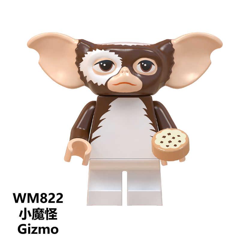 Stay Puft Fantasma BustersS ET Alienígena Ponto WM823 Angie Sonic Gizmo Tarja Tijolos de Construção Brinquedos para Crianças