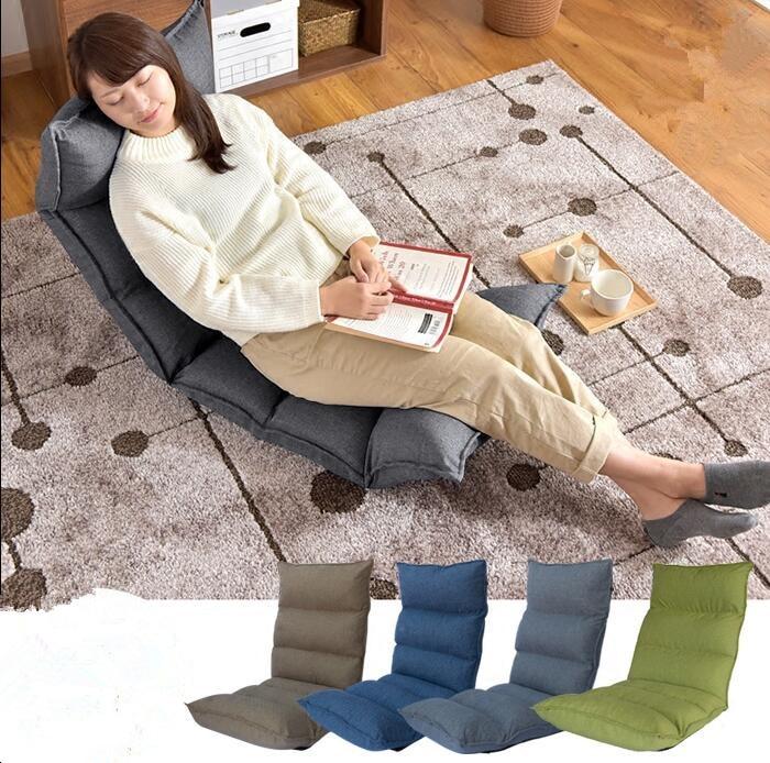ღ ღElegante Sofás piso asientos Muebles de salón sofá silla ...