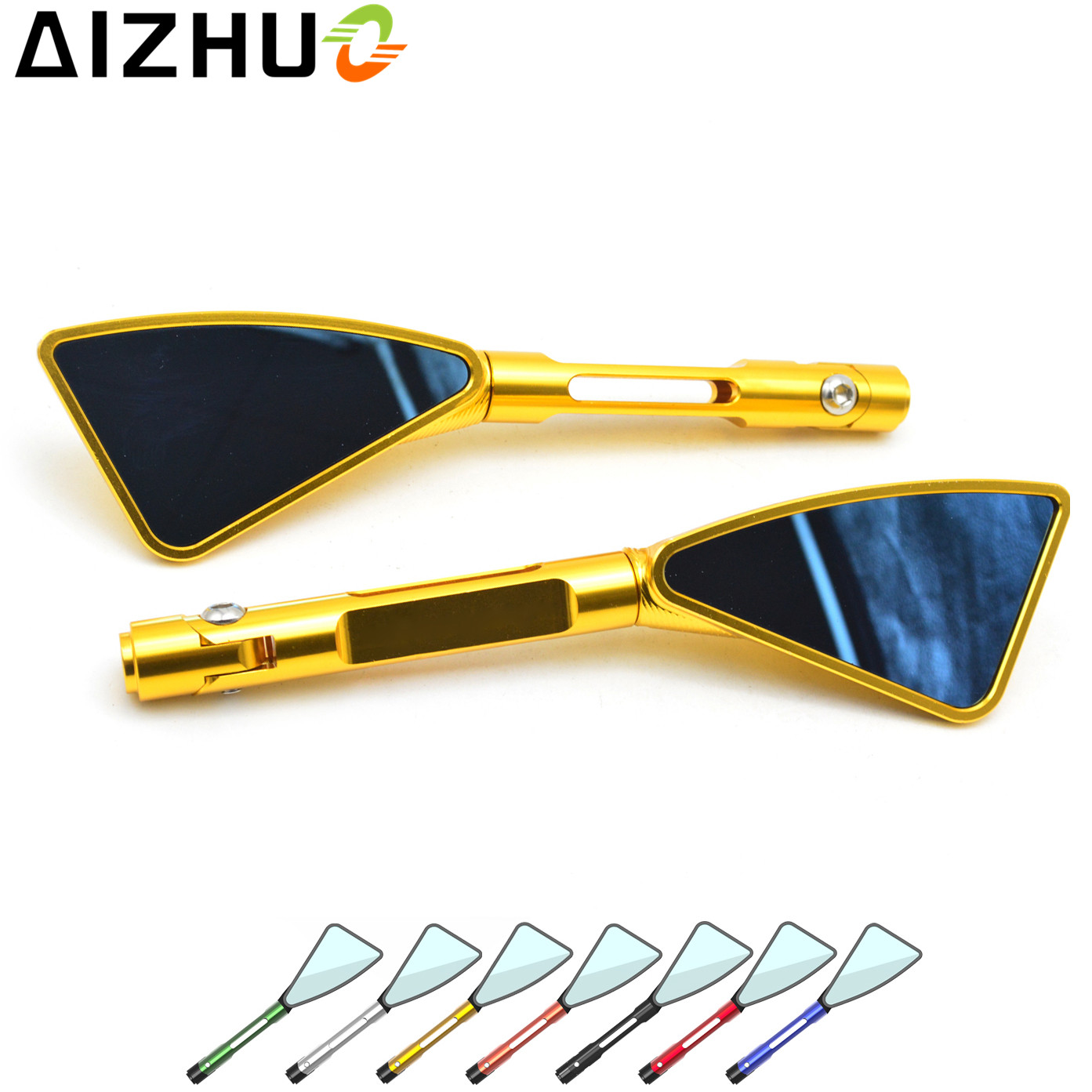 Motorcycle Rearview Rear View Mirrors CNC Aluminum For Suzuki GSR 600 750 YAMAHA NMAX 125 155 xmax 125 250 300 V-strom 650 1000