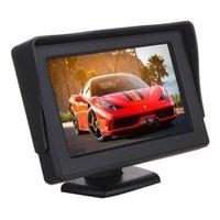 4 3 Inch Portable Color LCD Car Backup Monitor Screen