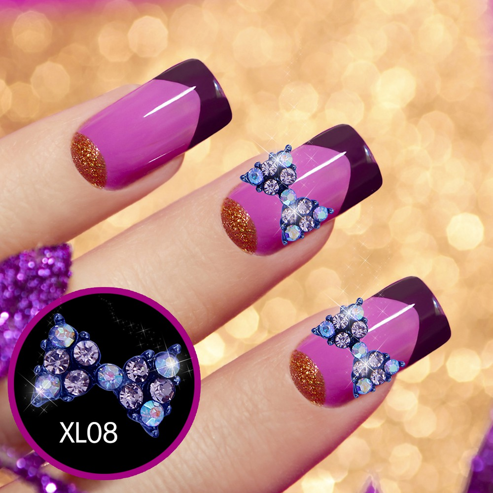 10pcs Big Nail Rhinestones Beads Nail Art Decoration For Nails