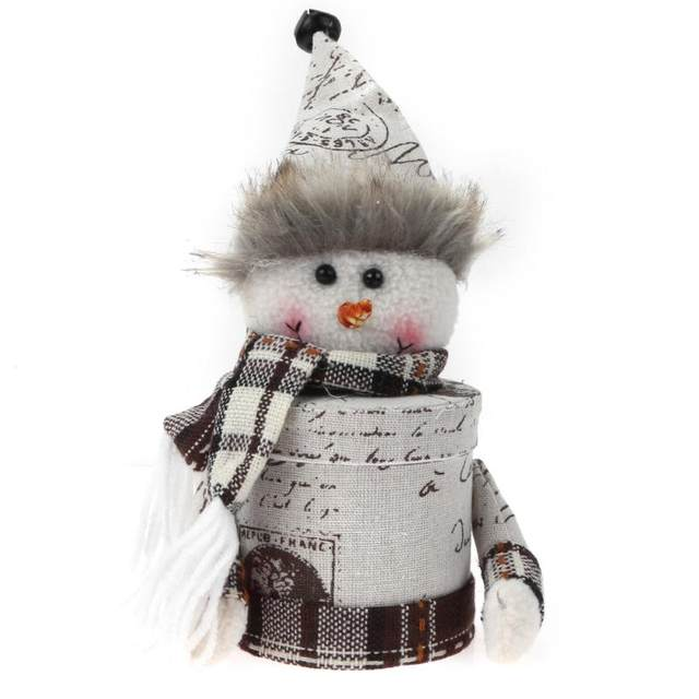 Online shop merry christmas gift box cartoon candy jar bottle merry christmas gift box cartoon candy jar bottle sugar bowl christmas decorations for home navidad natal new year decoration negle Image collections