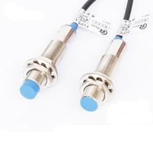 M12 индуктивный бесконтактный выключатель LJ12A3-4-Z/dc три линии PNP нормально открытый DC6-36V 1 шт
