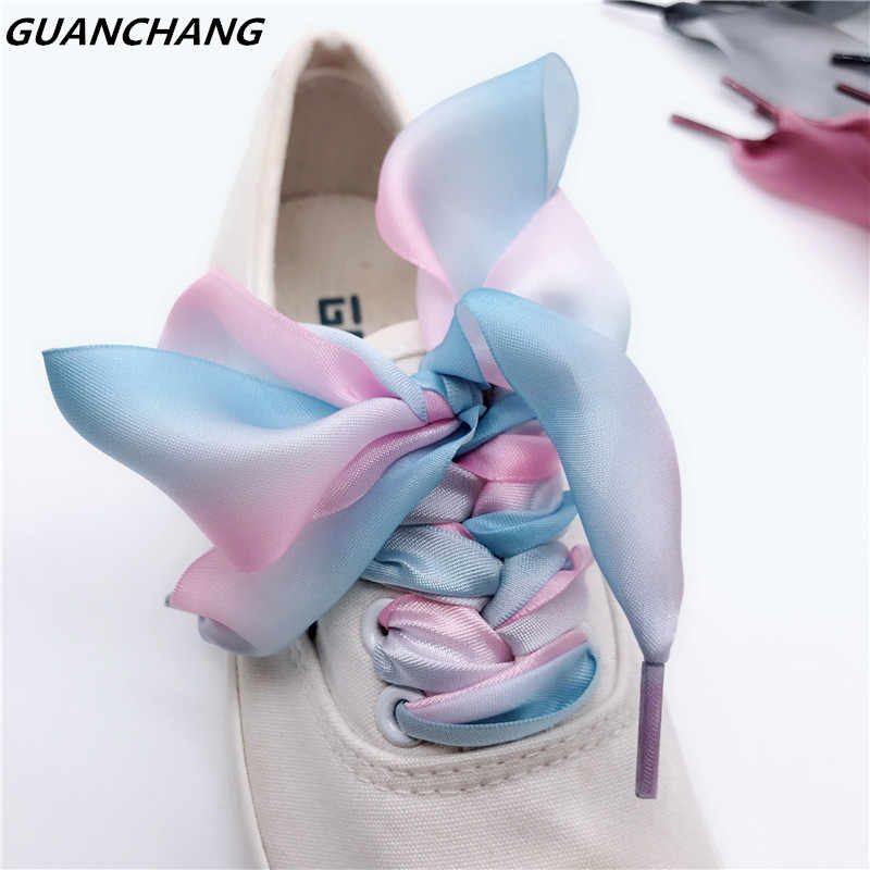 97b057fb97b04 Detail Feedback Questions about Flat Satin Ribbon Women Shoelaces ...