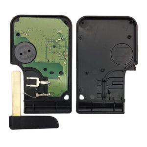 Image 3 - חדש 1 Pc רכב 3 כפתור 433Mhz 7947 שבב עם חירום הכנס להב חכם מרחוק מפתח עבור רנו מגאן סניק 2003 2008 כרטיס