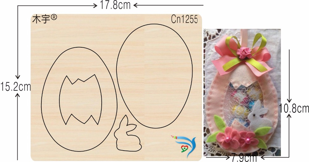 Candy bags and rabbits new wooden mould cutting dies for scrapbooking Thickness 15 8mm