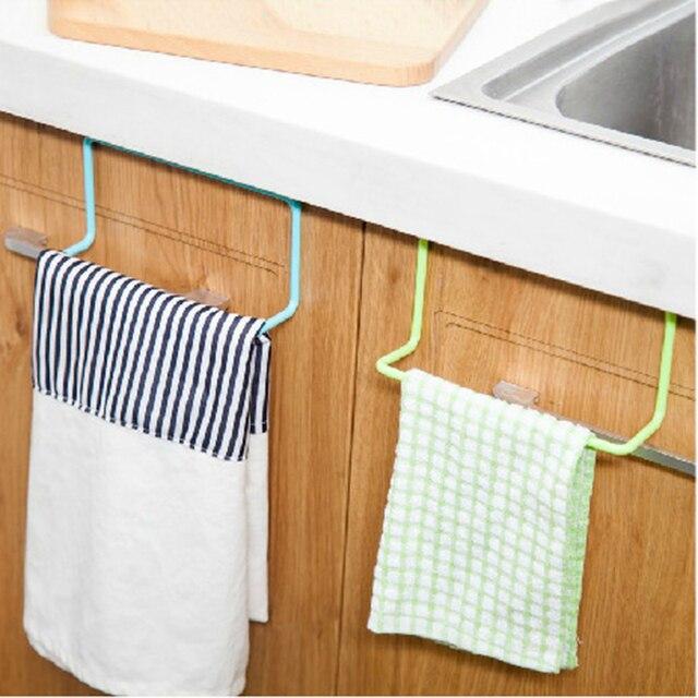 Küche Schranktür Zurück Stil Einzigen Handtuchhalter Kunststoff ...
