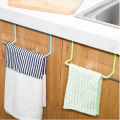 Kitchen Cupboard Door Back Style Single Bar Towel Rack Plastic Towel Rack Rag Hanging Multipurpose Utility C