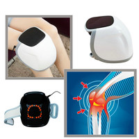 650nm Laser Knee Care Knee Air massager Knee Pain Physical therapy Magnetic therapy for osteoarthritis rheumatic arthritis