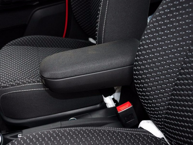 For VW Polo Armrests box with Cup holders leather or Fabric storage case console black color new design 2011 - 2016 universal leather car armrest central store content storage box with cup holder center console armrests free shipping