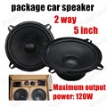 1Pair 2 Way 5 Inch 2x120W high quality for all cars Car Audio Speaker Stereo Factory Original Car package speaker