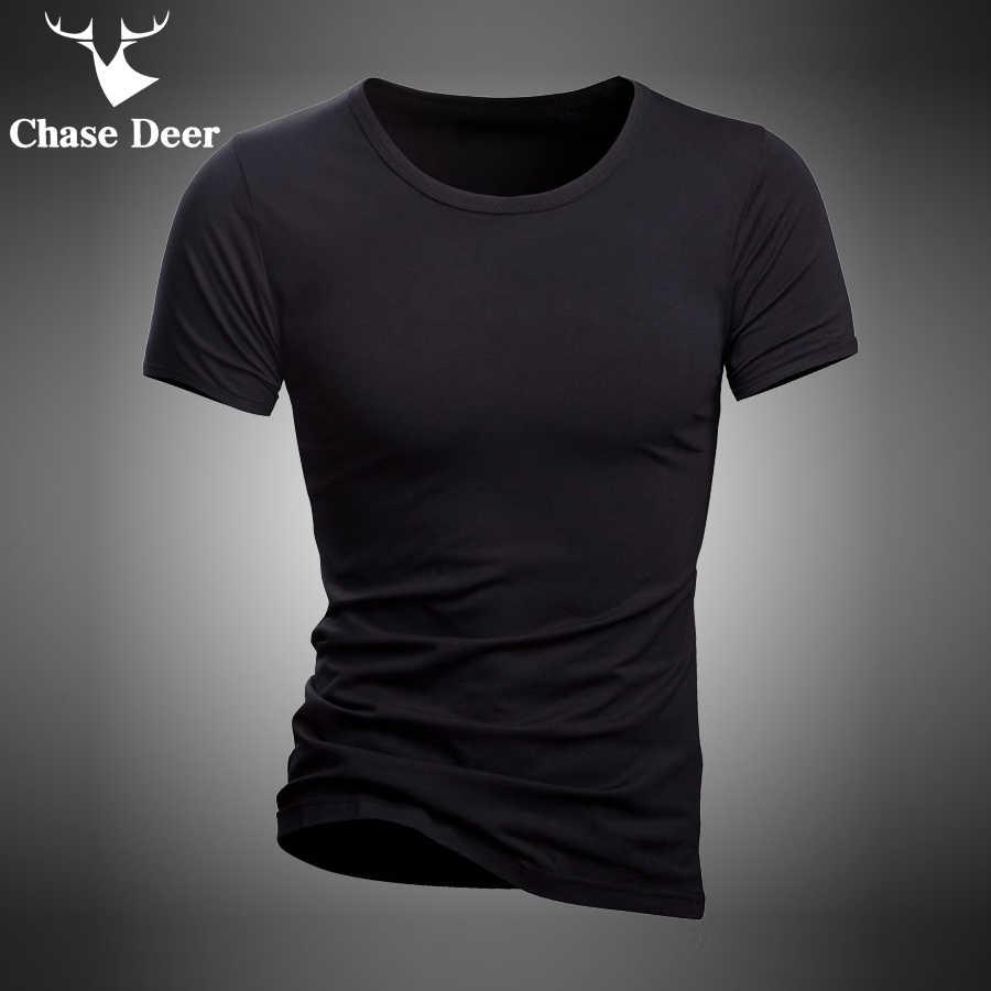 2019 летняя футболка, однотонная хлопковая Высококачественная тонкая Повседневная Новая брендовая белая и черная Пижама со спортивными штанами, футболка для мужчин