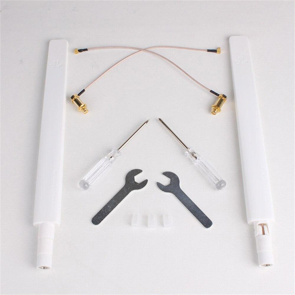 ФОТО 2.4G 8DB / 5.8G 6DB Omnidirectional Antenna Kit WiFi Signal Range Extender for DJI Phantom 4 Pro Drone
